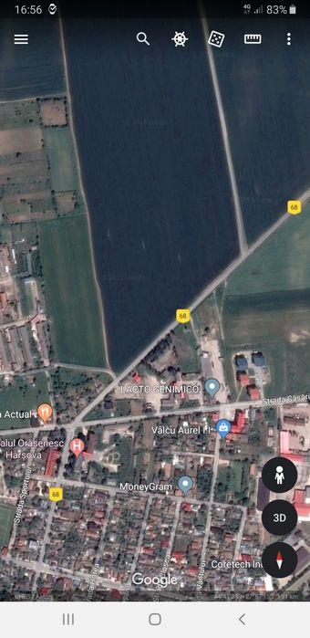 Vand teren intravilan 1800mp+3200mp extravilan Harsova jud.Constanta Harsova - imagine 1