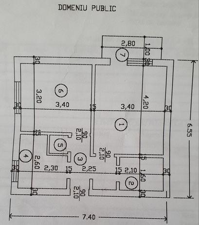 Vand Apartament 2 camere Micro 14