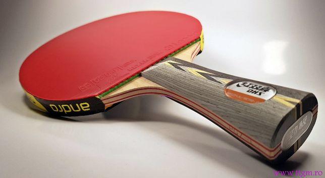 Paleta profesionala ttgm tenis de masa dhs/powergrip/gtt