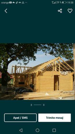 Vând cabane de lemn