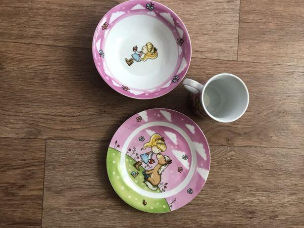 Новый набор детской посуды (Германия)отлично на подарок
