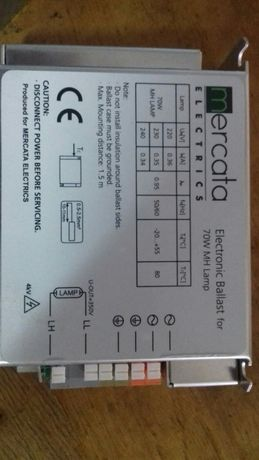 Дроссели для м/г ламп 70w,35w