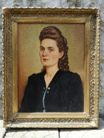 Tablou portret femeie de Lenhard L.