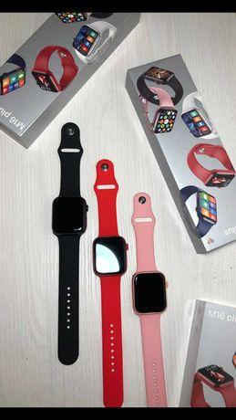 Смарт Часы Apple Watch M16 plus+ремешок в ПОДАРОК.