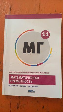 Учебники для подготовки к ЕНТ (математика, грамотность чтения, физика