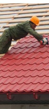Крыша. Карниз обшивка. Водосток