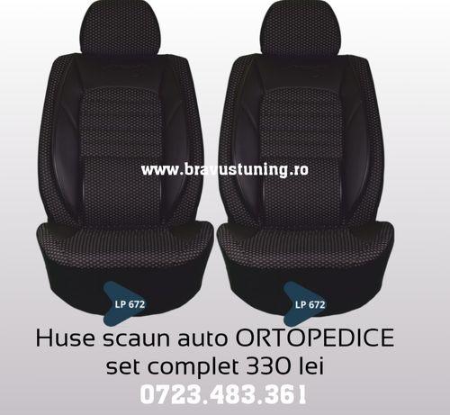 Huse scaun auto ORTOPEDICE Audi, Skoda, Passat, Jetta, Opel, Logan etc