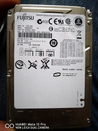HDD ide laptop 80gb