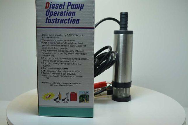 Pompa Submersibila /Motorina/ulei/Apa/antigel/vin 12V