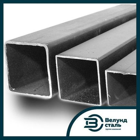 Профильные трубы стальные ст3 L=12м квадртаные, прямоугольные