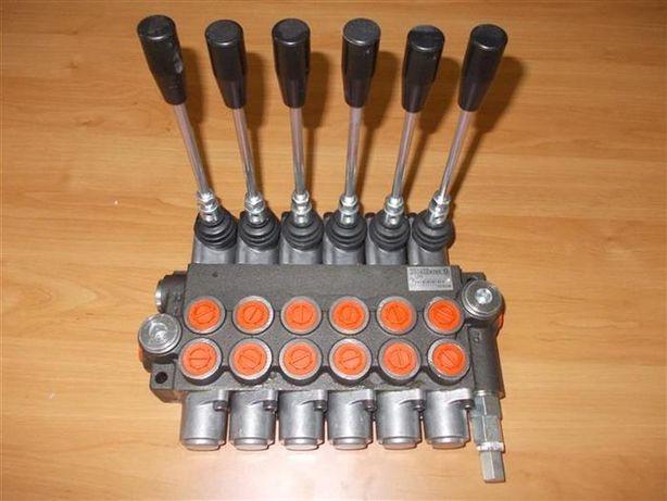 Distribuitor hidraulic 40 litri 6 manete - Distribuitoare lemn taf