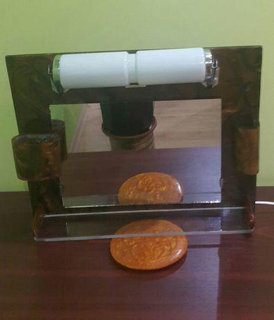 Огледало за баня бакелит/каталин/кехлибар