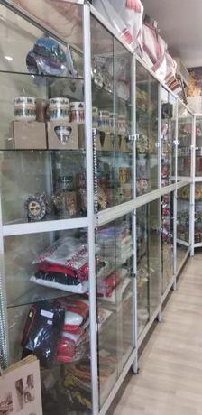 Витрини за магазин - стъкло ; бижута ; сувенири