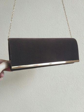 Элитная дамская сумочка-клатч