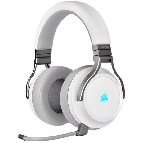 Casti Corsair Gaming Wireless Headset Virtuoso RGB White ,sigilat
