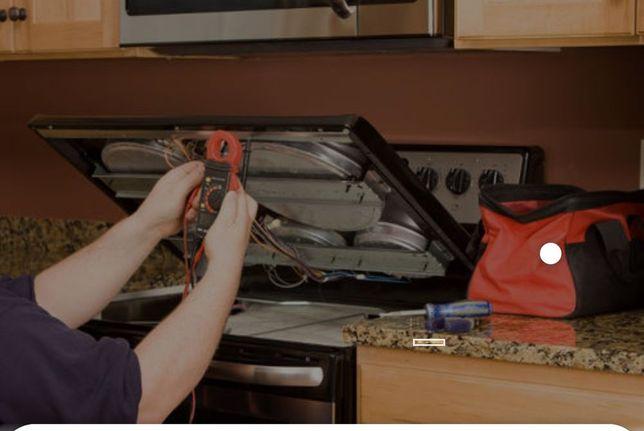 Ремонт газовых плит, ремонт духовок, ремонт электроплит, ремонт котлов