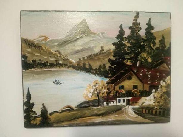 Tablou , pictura pe placaj