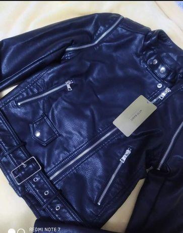 Продам куртку косуху натуральная кожа, куртка трансформер.
