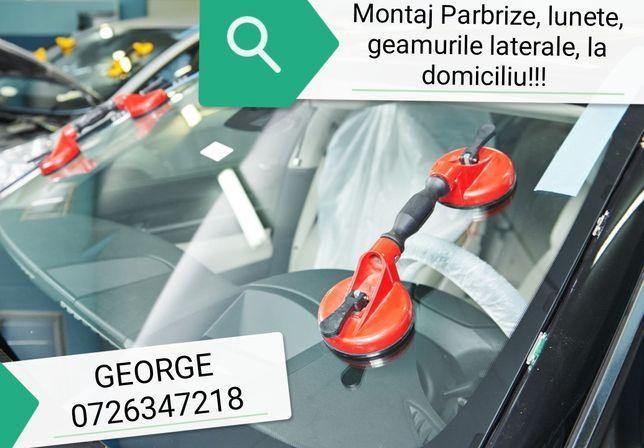 Montaj PARBRIZE, / Parbrize la Domiciliu, lunete și geamuri laterale