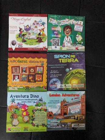 Colecție Jocuri și activități distractive/EDU/ clasa I-III/Ro/Eng/