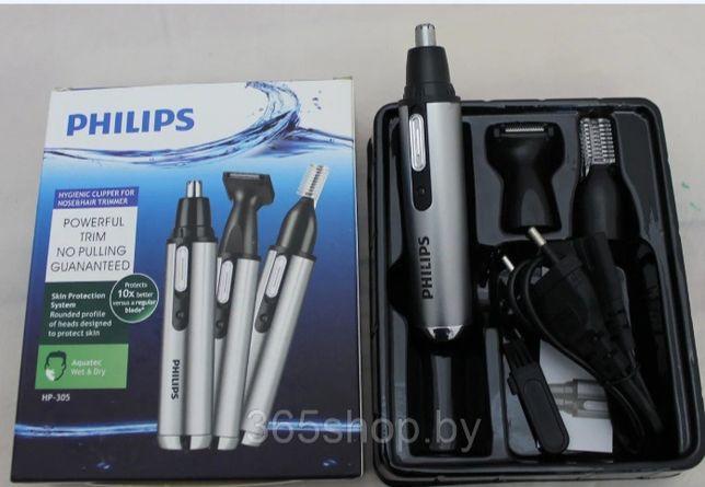 Триммер для носа/ушей и бороды 3 в 1 Philips HP-305 г. Алматы