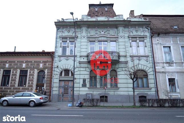 Casa Bernády György, strada Revolutiei, Tg-Mures