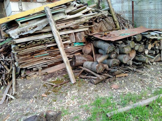 Vand gramada de lemne.