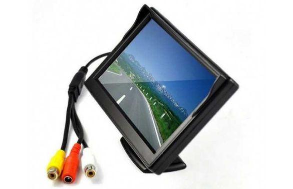 """Дисплей 5"""" LCD Цветен за Камера за Задно Виждане"""