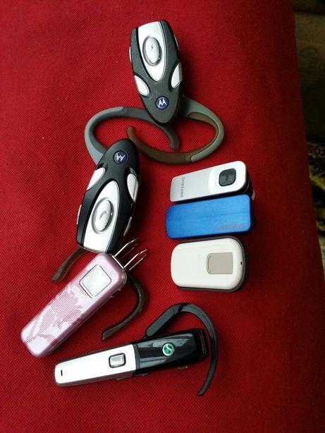 Handsfree Bluetooth 1×Samsung 2×Motorola 1×Sony Ericsson