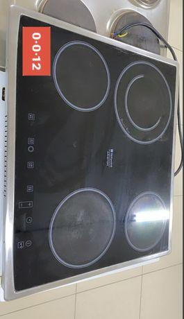 Электрическая плита Стеклокерамика с сенсорным управлением