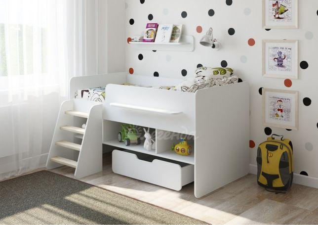 №6 Детская кровать Легенда белая