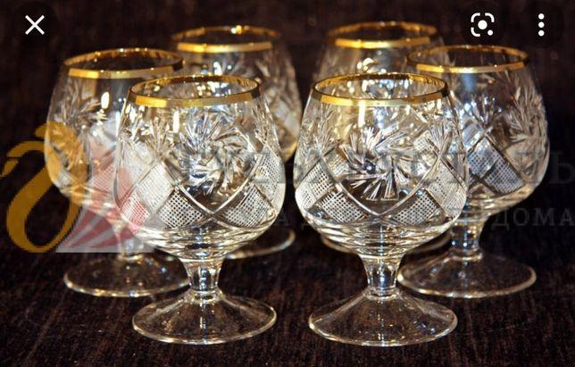 Продаются хрустальные стаканы