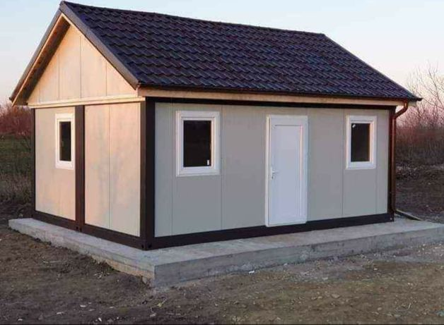 Vand case modulare garaje auto cabane din lemn