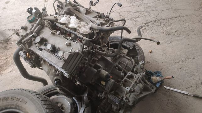 Двигатель 3,5 и коробка автомат Тойота Камри 50/55