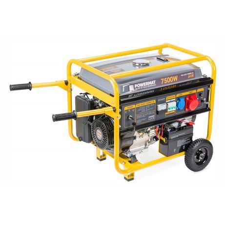 Generator Curent 220V 380V 7500W PORNIRE AUTOMATA Cheie Manere Roti