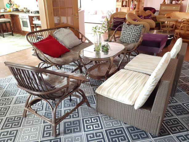 Шикарная мебель из 6 предметов, натуральн. ротанг! Новая! Индонезия!