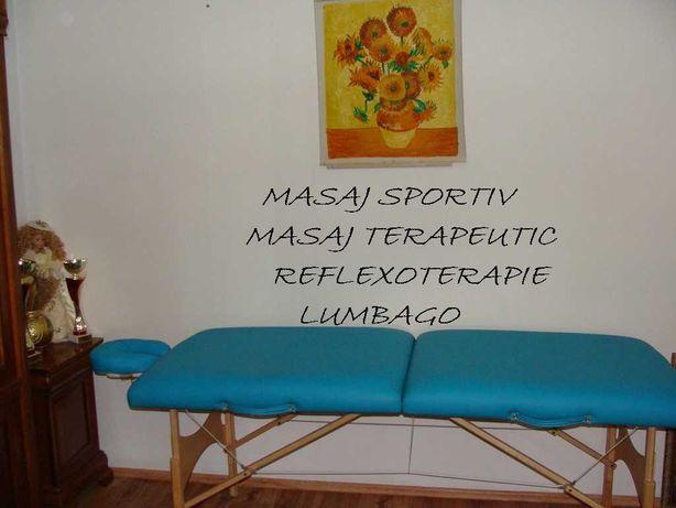 Execut masaj la domiciliul clientului. 50lei ora