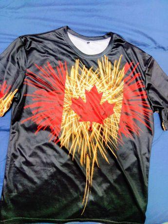 Tricou Canada frunza de artar