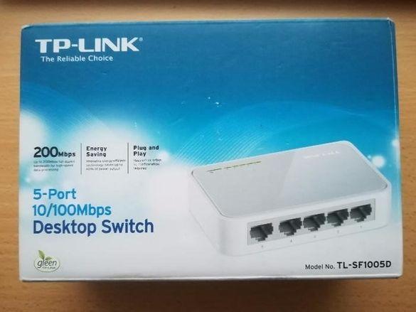 Desktop Switch TP-LINK Tl-sf1005d
