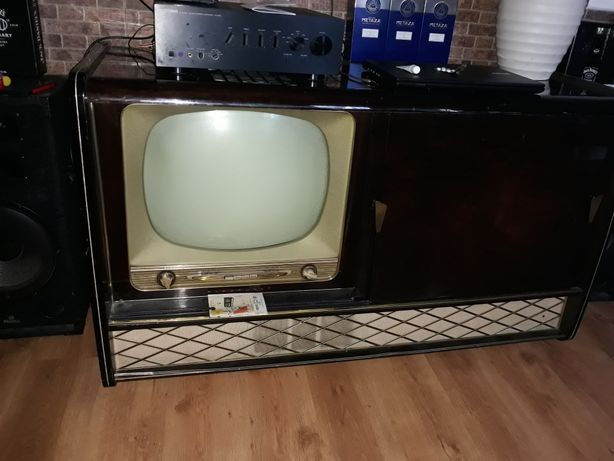 tv-radio Blaupunkt Arkona 21 an fab 1957