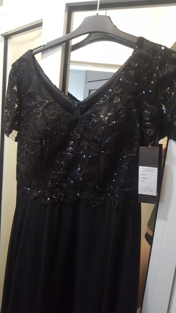 Rochie lunga neagra Noua cu eticheta