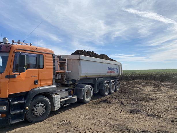 Transport agregate nisip/ bazarca / balast