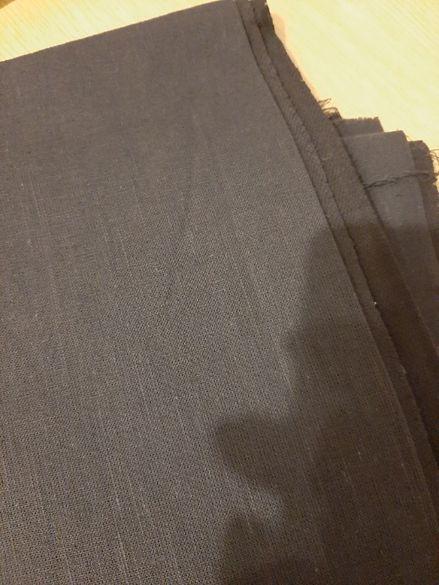 плат памучен чер
