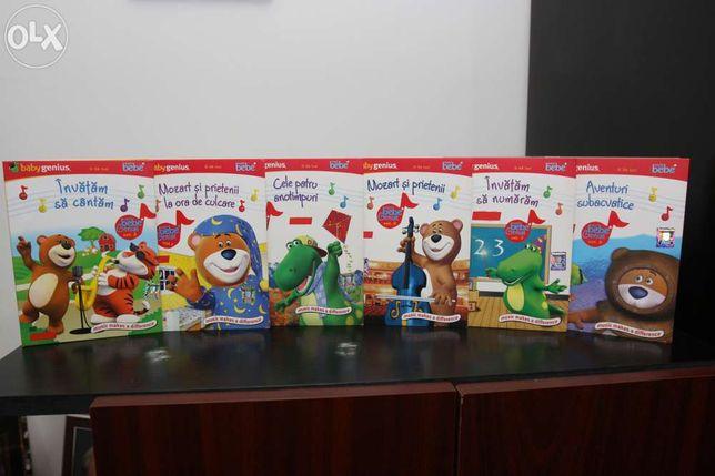 Baby Genius - Super Bebe Colectie 6 DVD - pentru copii intre 0 - 3 ani