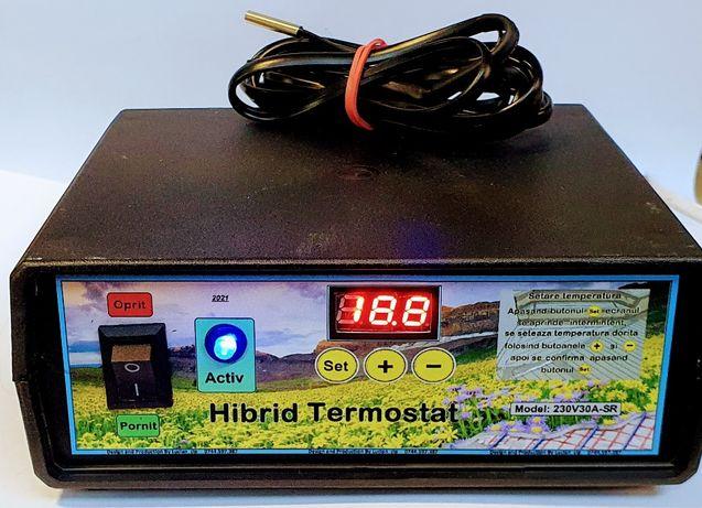 Hibrid Termostat Digital Cablu incalzitor substrat rasadnita Rasaduri