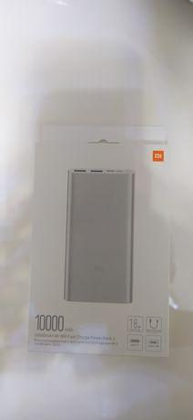 Оригинальный Power Bank Xiaomi 3 10000 mAh Silver