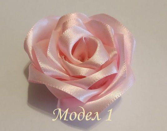 Цветя от сатен: различни модели, размери и цени