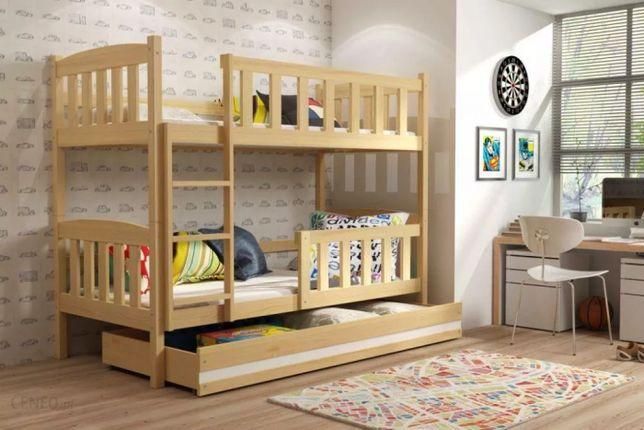 Pat pentru 2 copii, etajat, Cuby, 190x80 cm