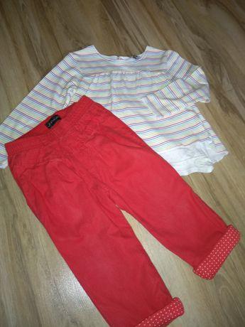 Set Tunica bluza pantaloni 18-24 luni