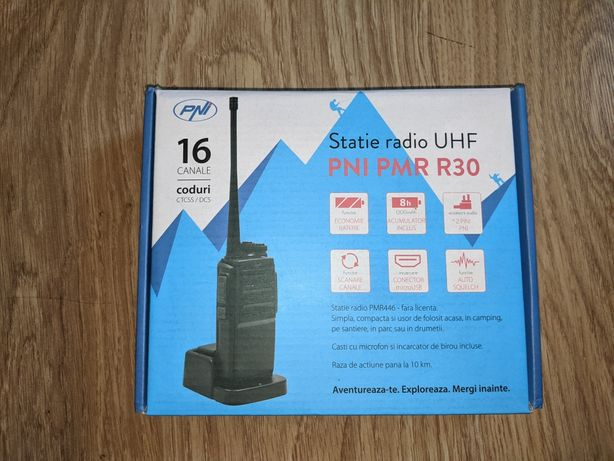 Statie radio portabila PNI PMR R30